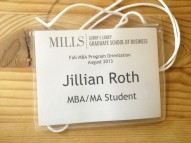 My Orientation Name Tag